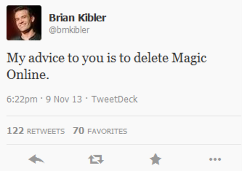 Kibler Tweet